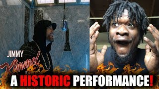 This Was Historic Eminem Performs Venom From The Empire State Building