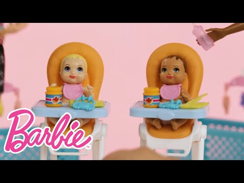 Unboxing Barbie® Skipper™ Babysitters Inc.™ Dolls and Playsets   Barbie®
