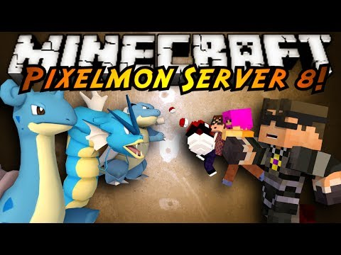 Minecraft Pixelmon Server : WATER POKEMON PLEASE!