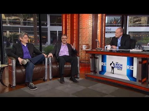 Co-Creaters Vince Gilligan & Peter Gould Talk 'Better Call Saul' in Studio on The RE show - 3/5/15