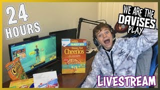 Trying to do 24 Hours! (Pt. 2) | Fortnite Live Stream