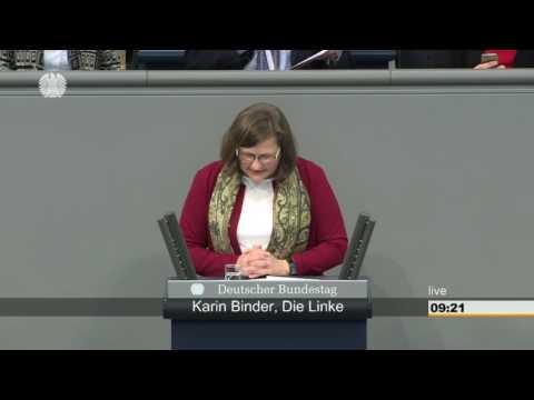 Karin Binder, DIE LINKE: Klare Regeln für gute Ernährung
