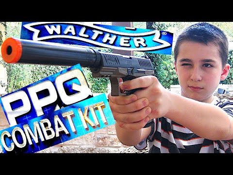Walther PPQ Spring Airsoft Pistol Kit with Robert-Andre!