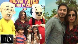 UNCUT : Farah Khan & Shreyas Talpade at Special Screening of film Motu Patlu King Of Kings