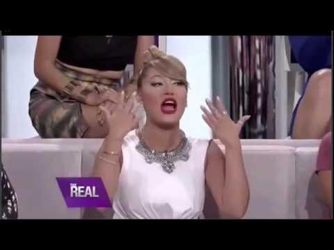 22.09.2014 - Nick & Lauren Kitt Carter - The Real (TV Show)