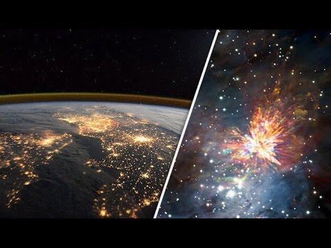 Imágenes increíbles muestran la enorme explosión causada por dos estrellas que se estrellan entre sí