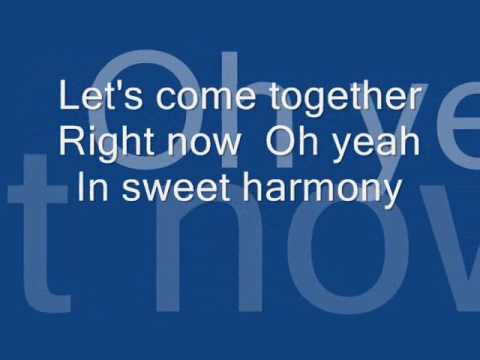 The Beloved   Sweet harmony Lyrics