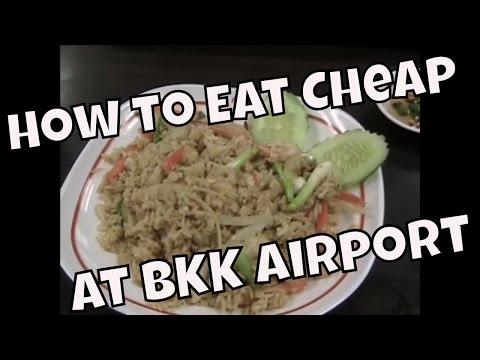 How to Eat Cheap at Bangkok's Suvarnabhumi Airport