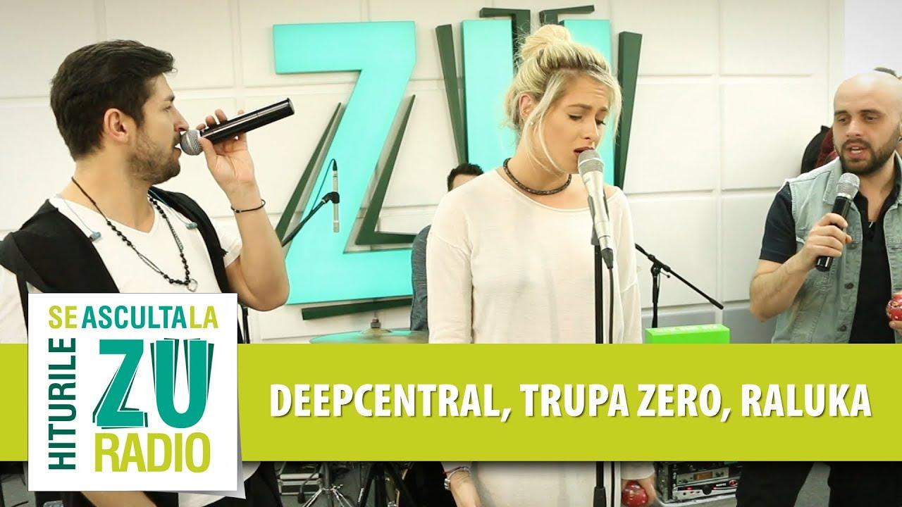Deepcentral, Trupa Zero si Raluka - O Stea / Sunny Days (Live la Radio ZU)