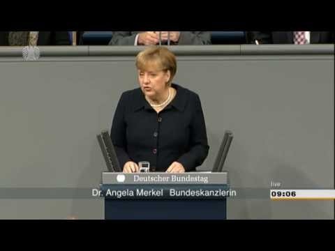 Merkel remains opposed to Eurobonds, addresses Bundestag  (German)