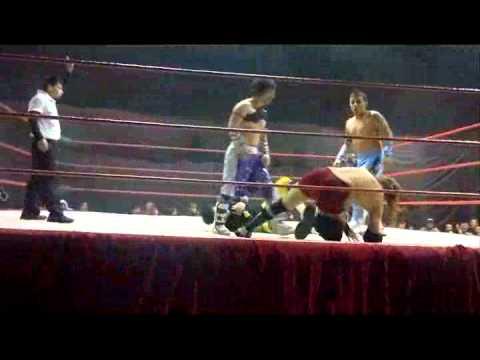 09062012 BundyAmigos Combate Serie Sobreviviente por el XTREME LUCHA LIBRE Title