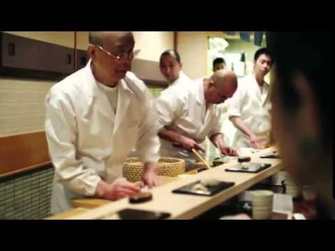 Jiro Ono Sushi - Sukiyabashi Jiro (CC/Subtitulos Español)