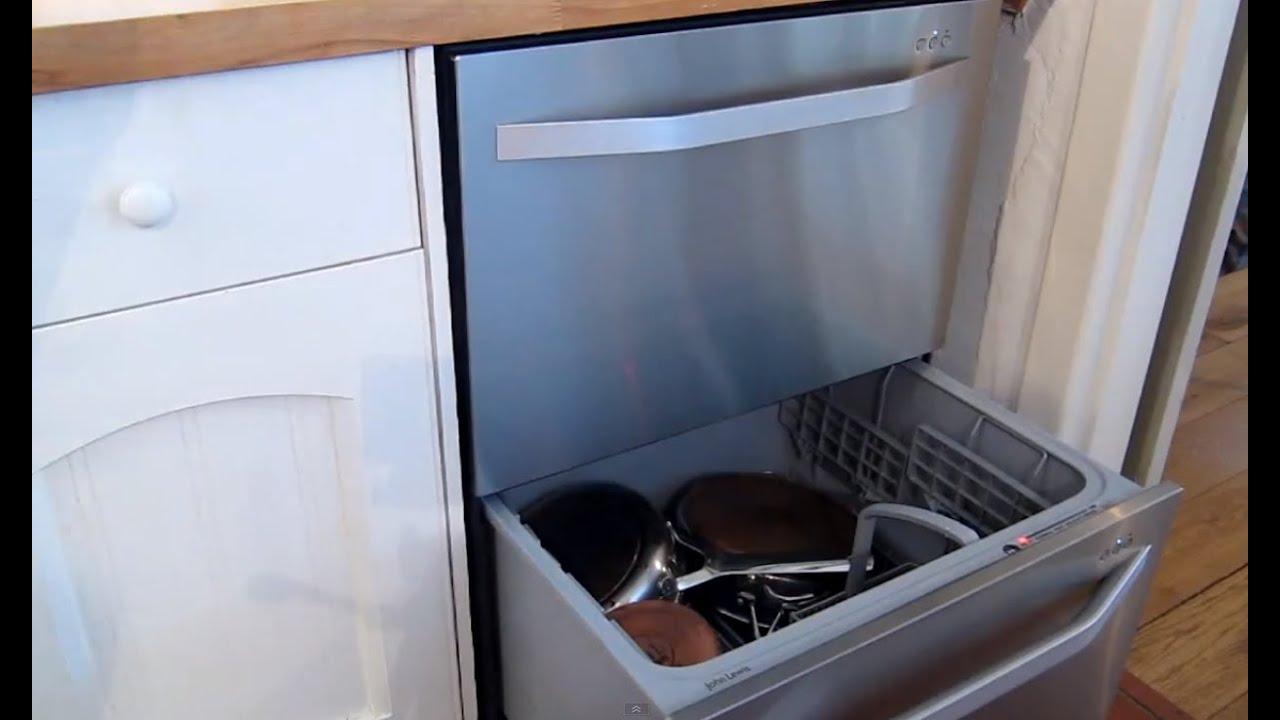 Using A Two Dual Drawer Dishwasher John Lewis Fisher