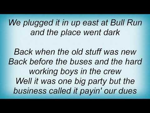 Garth Brooks - The Old Stuff Lyrics