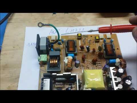 Luciano Informática - Monitor LCD AOC LM722 liga e desliga (resolvido).