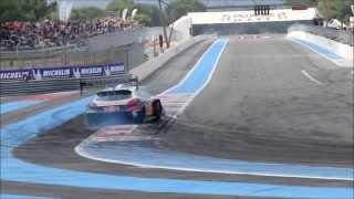 Sebastien Loeb Peugeot 208 T16 pikes peak Back Fire – HUGE POWERSLIDE – drift – Big acceleration