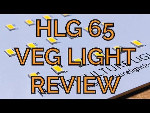 Hands-on Review: HLG 65 Veg Grow Light