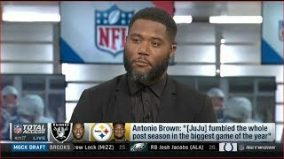 Antonio Brown: JuJu fumbled the whole post season in the biggest game of the year