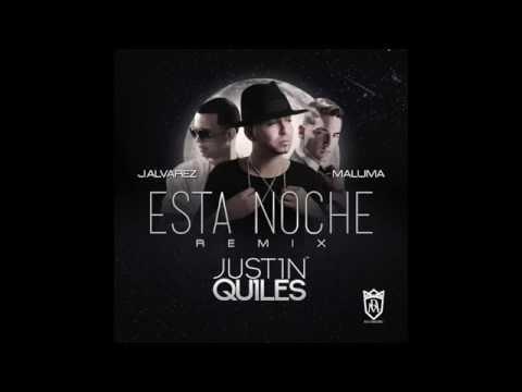 Justin Quiles - Esta Noche ft. J Alvarez & Maluma (Remix) [Official Audio]