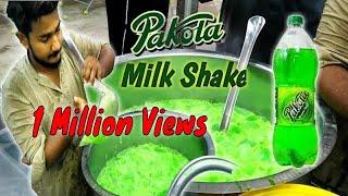 PAKOLA JUICE | Ice Pakola Milk Shake | Heat Stroke Solution | Street food Karachi Pakistan