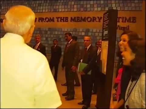 PM Narendra Modi visits 9/11 museum