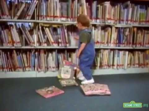 Sesame Street - In The Library