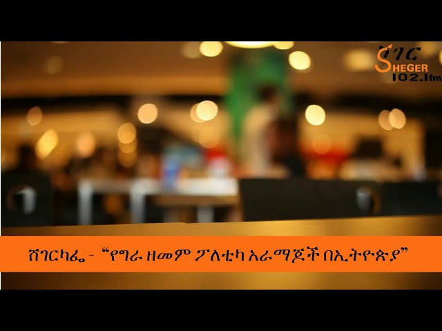Sheger Cafe | Discussion About Ethiopian Politics