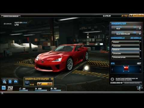 Need for Speed World Car Reviews: Lexus LFA