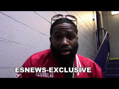 ADRIEN BRONER On Floyd Mayweather Fight Says Im Biggest Name In Boxing Amir Khan Beats Canelo