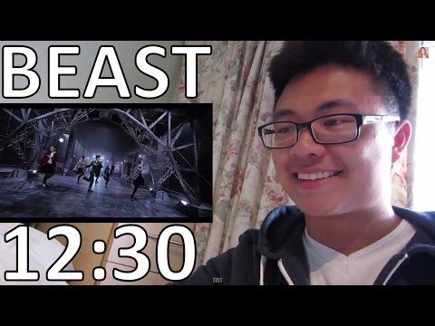 Beast - 12시 30분 (12:30) Kpop Mv Reaction video