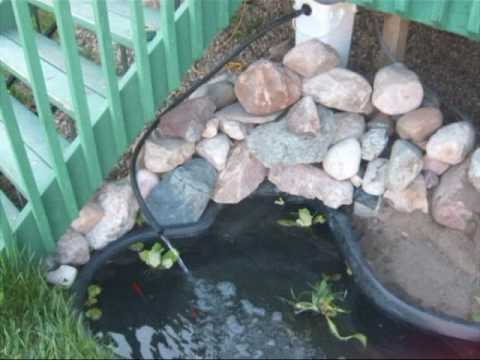 Diy pond filter 2nd part how to save money and do it for Do it yourself pond filter
