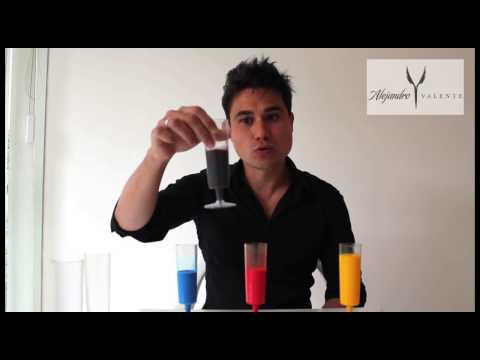 Colorimetria, Alejandro Valente cores primarias e secundarias