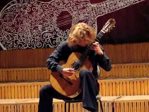 Antonio José - Sonata, part I (performed by Ihar Dzedusenka)