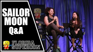 Sailor Moon Panel with Stephanie Sheh and Amanda C. Miller at Florida Supercon 2015