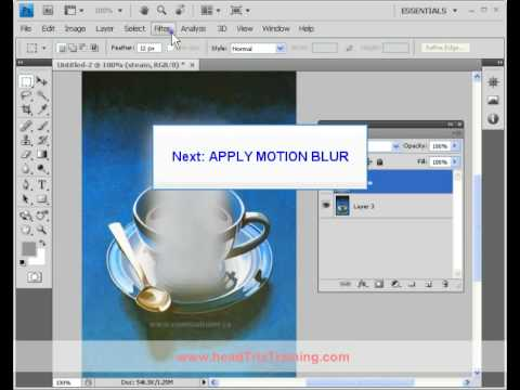 0 Photoshop Training   Steam Effect | Photoshop Training in Los Angeles & Live Online