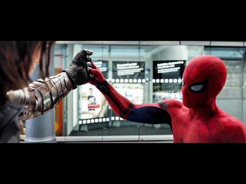 Captain America: Civil War - TV Spot #30 - Spider-Man VS Bucky (2016) NEW Footage