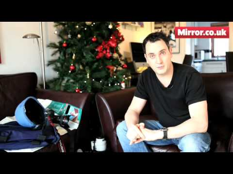 Daily Mirror photographer James Vellacott video blog from Afghanistan at Christmas
