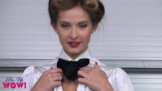 Sexy pantyhose. Elle Richie in Doctor Tease Please