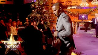 Jamie Foxx Gives A Lap Dance To An Audience Member! | The Graham Norton Show
