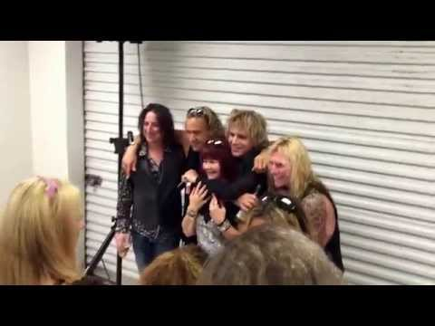 Gene Loves Jezebel post show meet and greet melbourne auditorium Florida 2015
