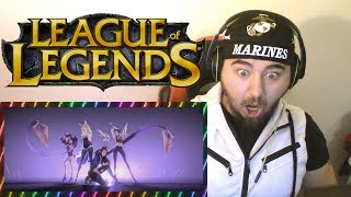 League Of Waifu's!!! | K/DA - POP/STARS Official Music Video Reaction