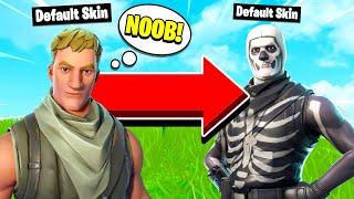 SKULL TROOPERS ARE THE NEW DEFAULT SKINS! (Fortnite Mobile Skull Trooper Gameplay)