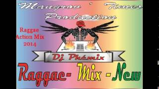 Raggae action Mix 2014 - DJ PHEMIX