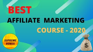 Best Affiliate Marketing Course in 2020