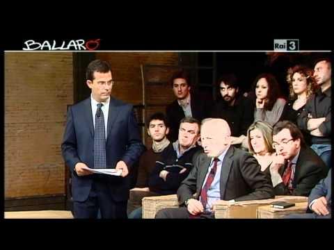 Rosi Bindi Riforma mercato del Lavoro e art 18 Posizione Partito Democratico Ballarò 2012 03 20