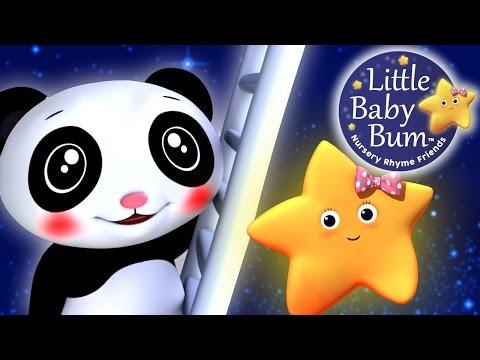 Star Light Star Bright | Nursery Rhyme With Twinkle Star & Baby Panda | By LittleBabyBum