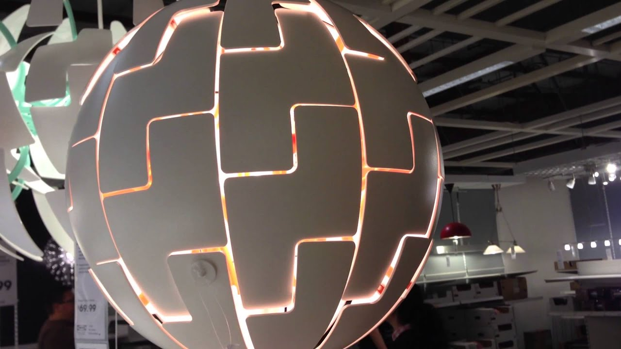 ikea death star lamp youtube. Black Bedroom Furniture Sets. Home Design Ideas