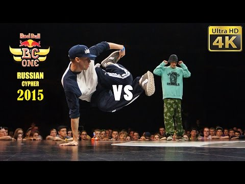 Red Bull BC One Russian Cypher 2015, Moscow - 1/8 battle 5 - 4K LX100
