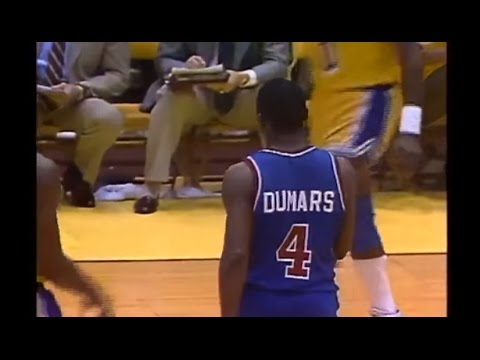 Joe Dumars - Game 3 1989 NBA Finals (17 Straight Points in the Third)