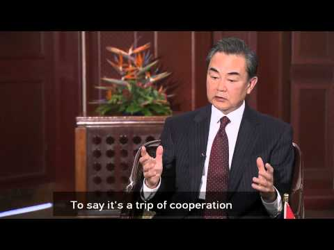 Wang Yi discusses the cooperation between China, Africa